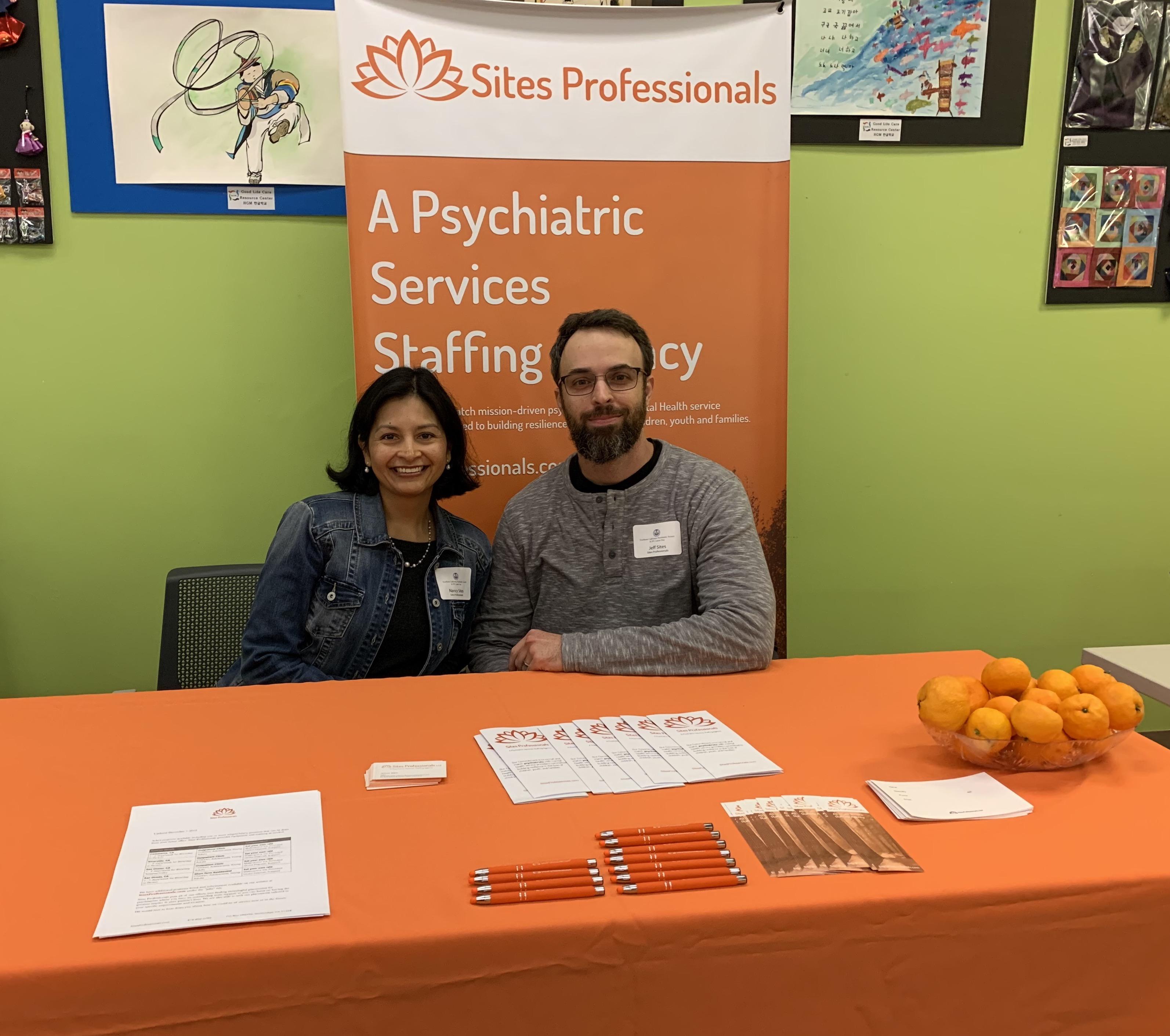 Psychiatric Society Career Fair Sites Professionals