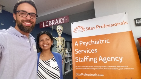 Sites Professionals at the Psychiatry Career Day